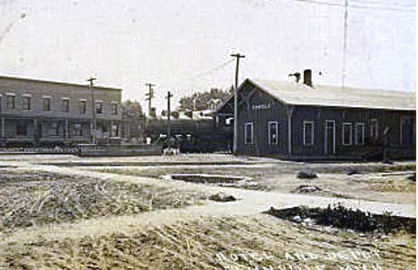 Old View of PM Fennville Depot